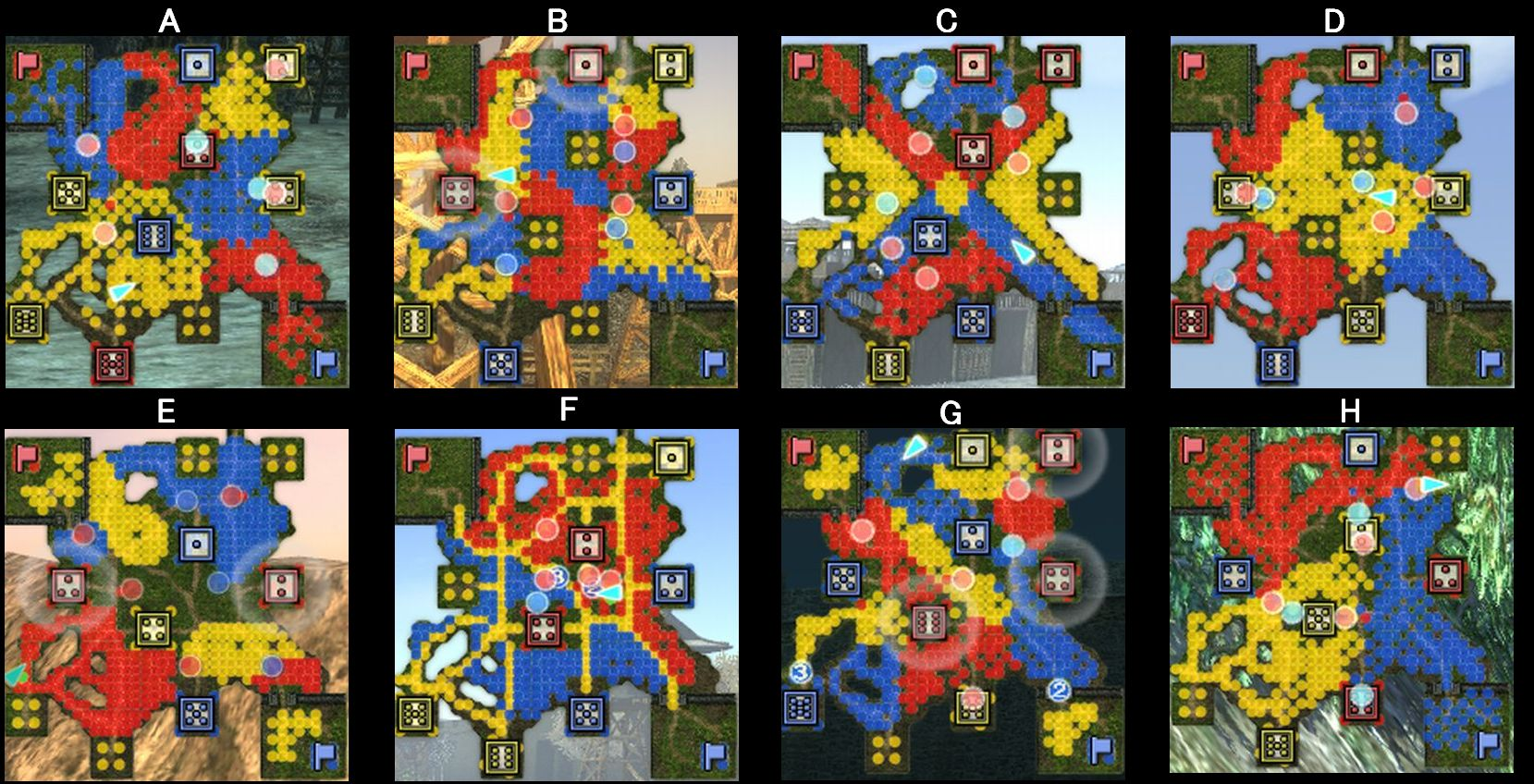 平地MAP