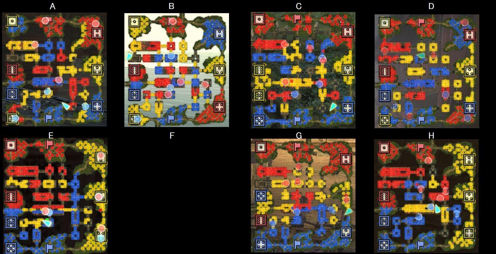 連環船MAP