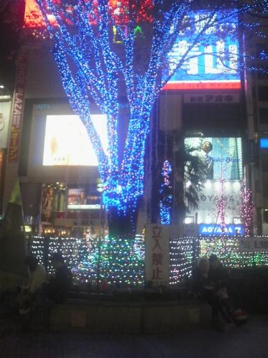東京新宿クリスマス画像