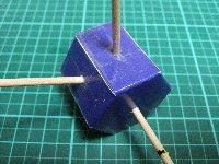 六角孔定規刺す