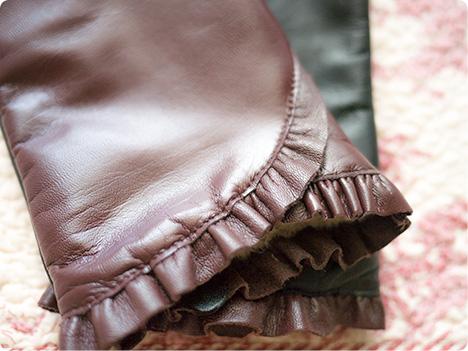 スマホ革手袋