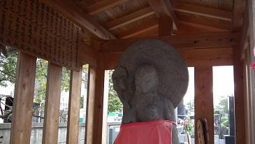東久留米の社寺と石仏 004阿弥陀堂・地蔵菩薩(天保11年)