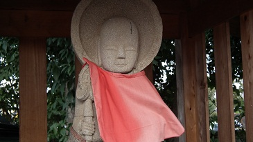 東久留米の社寺と石仏 006阿弥陀堂・明治14年地蔵菩薩