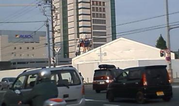 ガンダム東静岡駅前