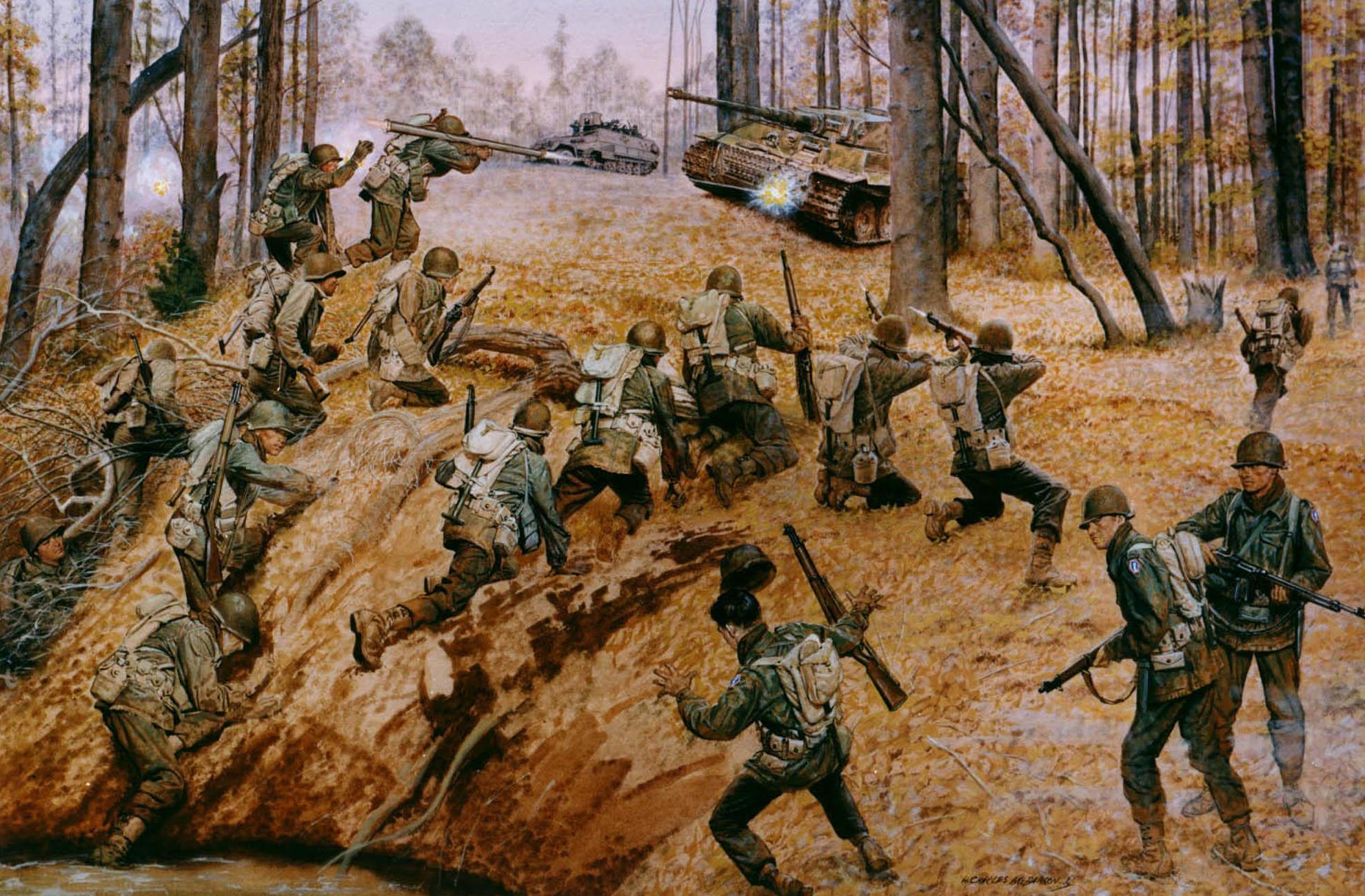 火薬御飯  第442連隊戦闘団