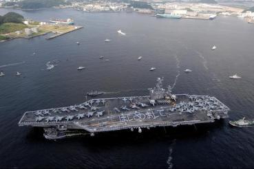 USS Ronald Reagan (CVN-76).