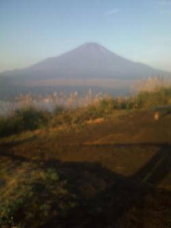 東富士演習場から見える富士山