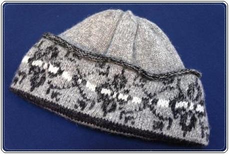 0108毛糸の帽子
