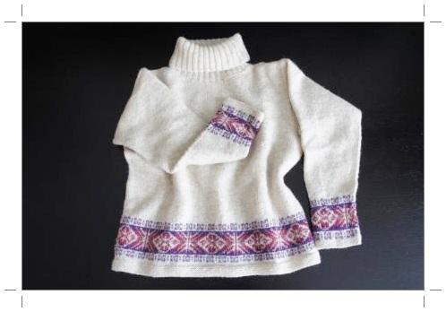 0120シェットランドヤーン セーター