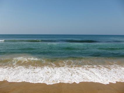 スリランカ海4