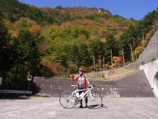 20101106吉野大峰林道紅葉狩サイク0562