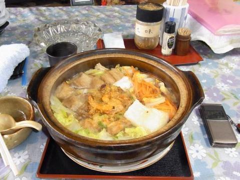 20101224一人鍋焼き0959