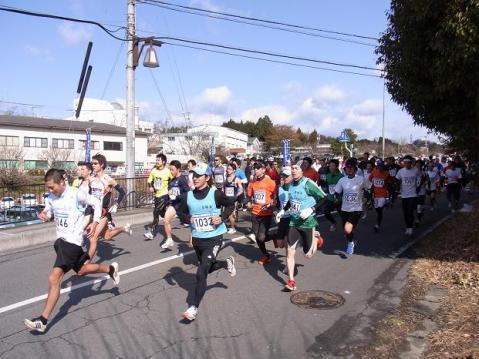 20110213月ヶ瀬早春マラソン1121