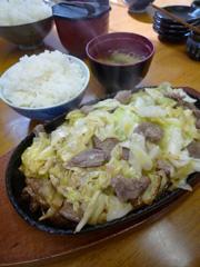 熊本市東部のもみじで焼肉スタミナ♪