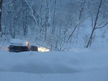 12月なのに大雪2