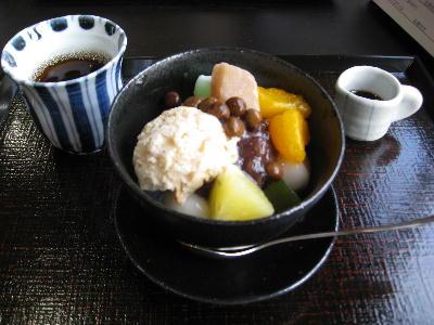 あんみつカフェ 002