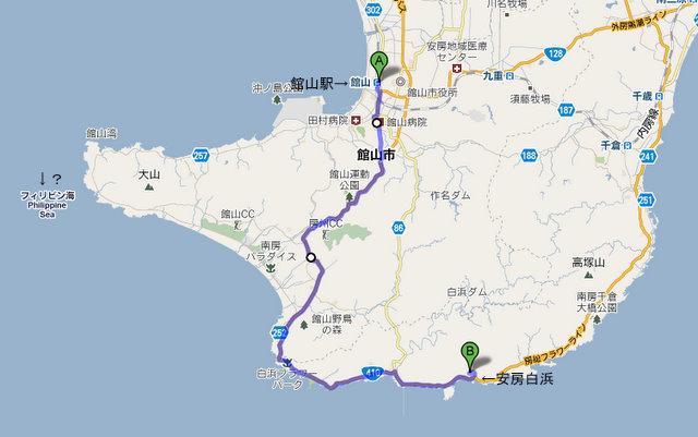 南房総map