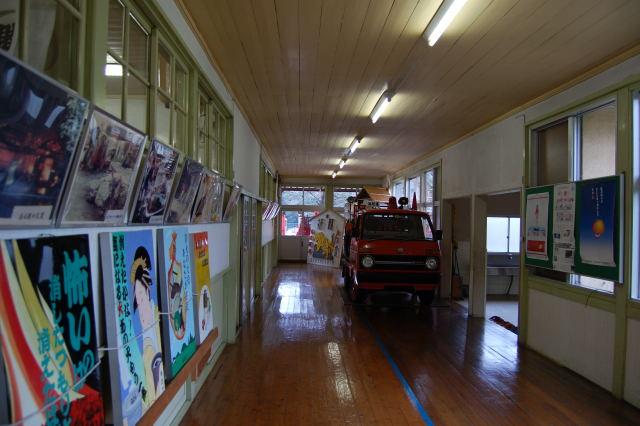 資料館廊下