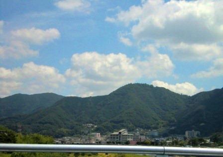 岡山の車窓から