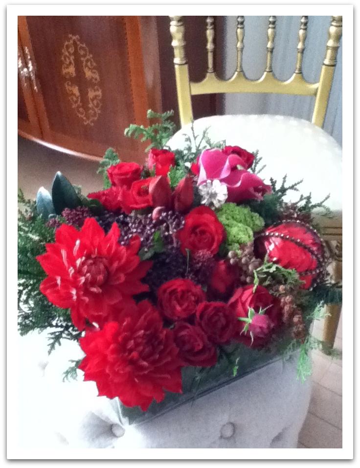 クリスマスお花