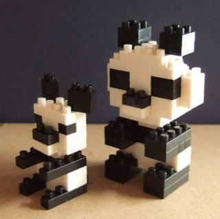 パンダの親子2