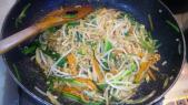 野菜の肉みそ炒め