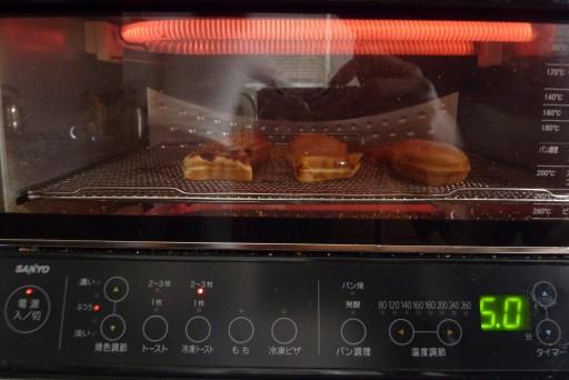 SANYO コンベクション オーブントースター と鯛焼き
