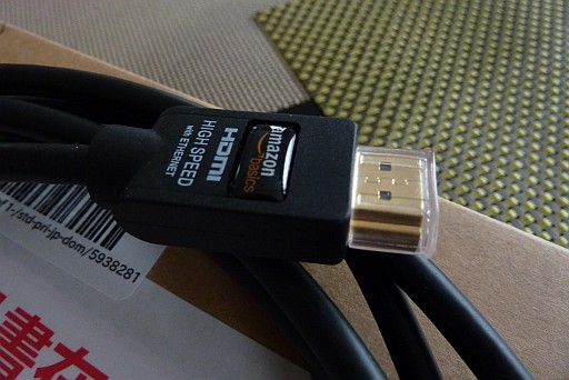 amazon HDMIケーブル