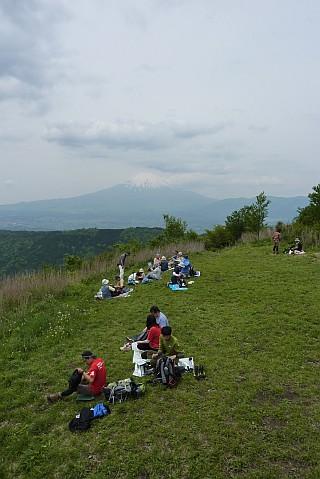 矢倉岳 山頂