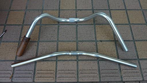 自転車 ハンドル交換