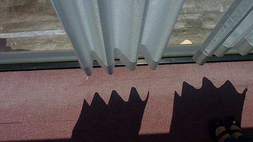 遮熱 UV レースカーテン