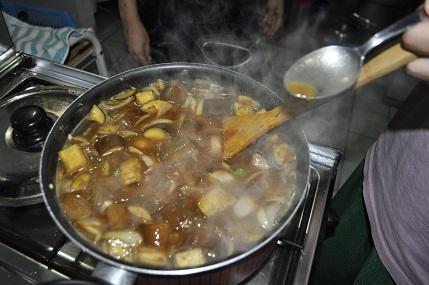 日本のカレー作り