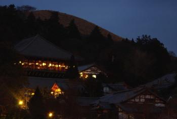 二月堂と若草山2