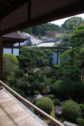 長岳寺庭園