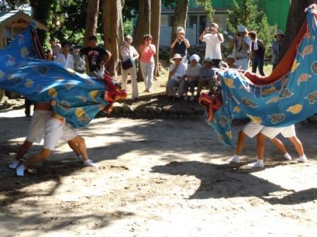 田牛祭り1