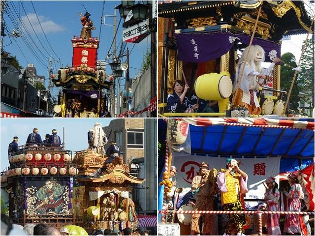 川越祭り①2011-10-16