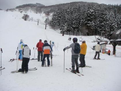 2012銀嶺会おじろスキー場行