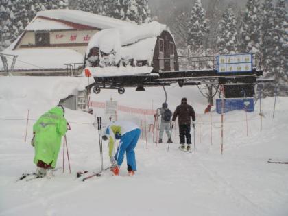 銀嶺会親睦スキー行2日目