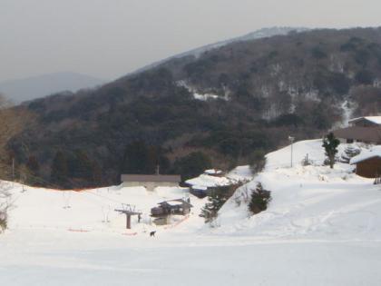 大江山スキー場にて