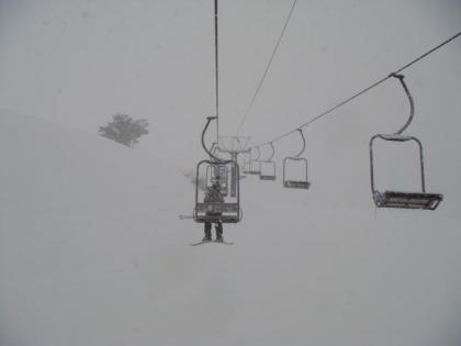銀嶺会スキー行