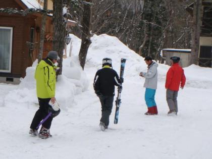 あやべ銀嶺会スキー野風増2泊目