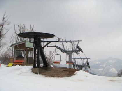 奥神鍋スキー場にて