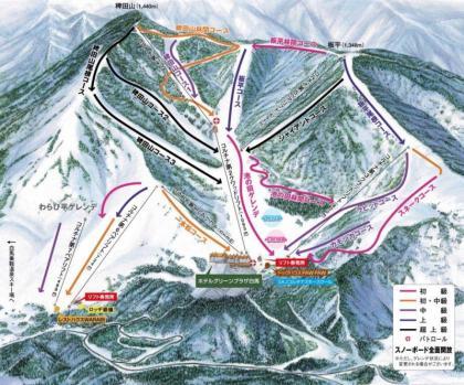 白馬コルチナ・スキー場