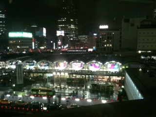 ヒカリエから見た渋谷駅