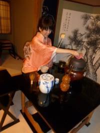 お茶会の写真