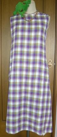 サンドレス紫