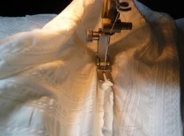 袖かぶせ縫い