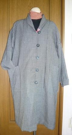 丸襟コート2