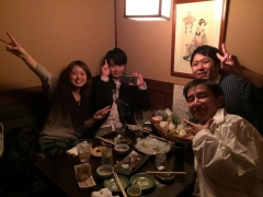 東京市ヶ谷での懇親会