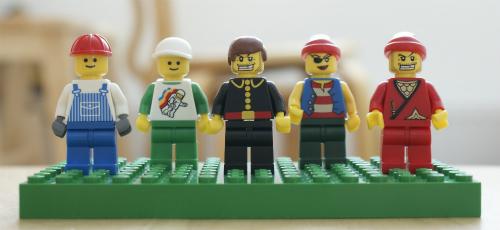 レゴの人たち